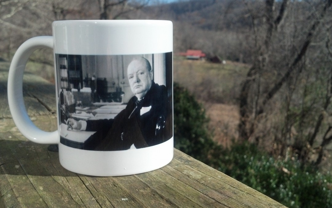 Churchill & Roosevelt Mug