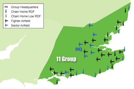 The area of 11 Group