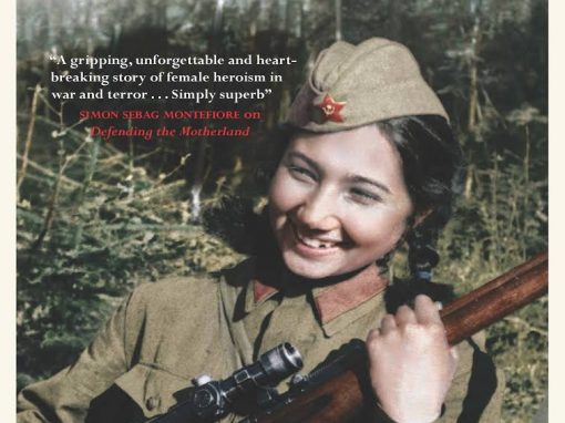 Episode 206-Interview with Dr. Lyuba Vinogradova about her book Avenging Angels: The Young Women of the Soviet Union's WWII Sniper Corps